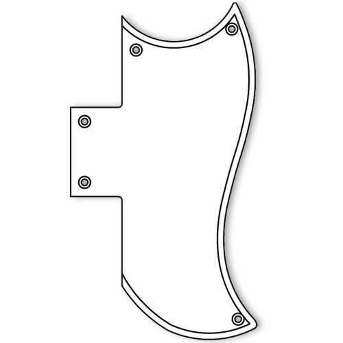 Gibson SG Standard Pickguard  4 ply