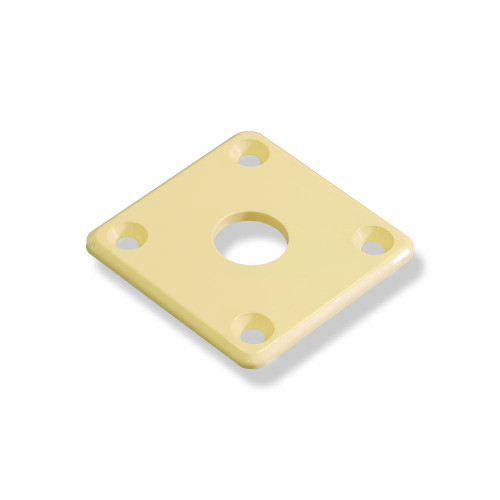 Les Paul® Style Plastic Jack Plate With Bevel