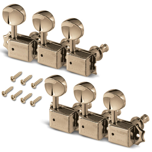 Kluson 6-In-Line Deluxe Series Tuners