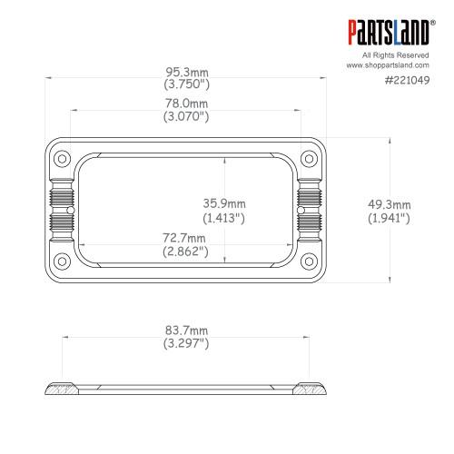 Filtertron Mounting Ring / FLTL2
