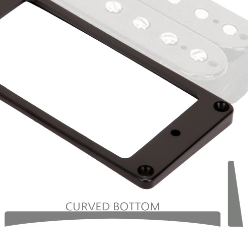 Curved Bottom Humbucker Mounting Ring / MT40