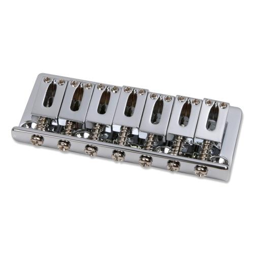 7-string Rectangular Bent Fixed Guitar Bridge