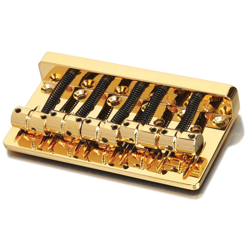 Thick Solid Brass Plate 5-string Bass Bridge