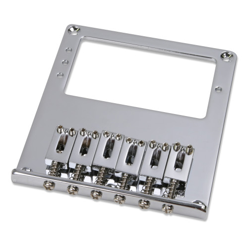 Standard 3-hole Humbucker Tele Bridge With Individual Block Saddle