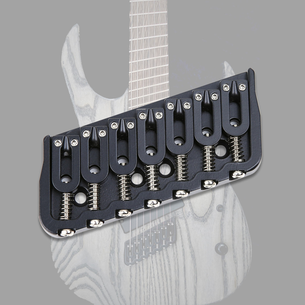 7 String Multi Scale Fixed Guitar Bridge