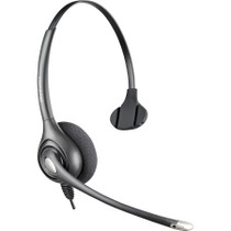 c71aead1484 Plantronics Supraplus Wideband HW251N Headset - Stereo - Black - Quick  Disconnect - Wired - Over-the-head - Binaural - 2.5 ft Cable (92715-01)