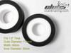 Dual Stage Foam for Redcat GEN8 Irock Swamper Tire ( 2 )