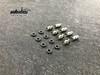 HD Brass Shock Bushing / Pivot Balls ( Ni Plated) for Element Enduro