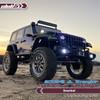 Side Air Intake Snorkel for SCX10 III Jeep JL Wrangler / JT Gladiator