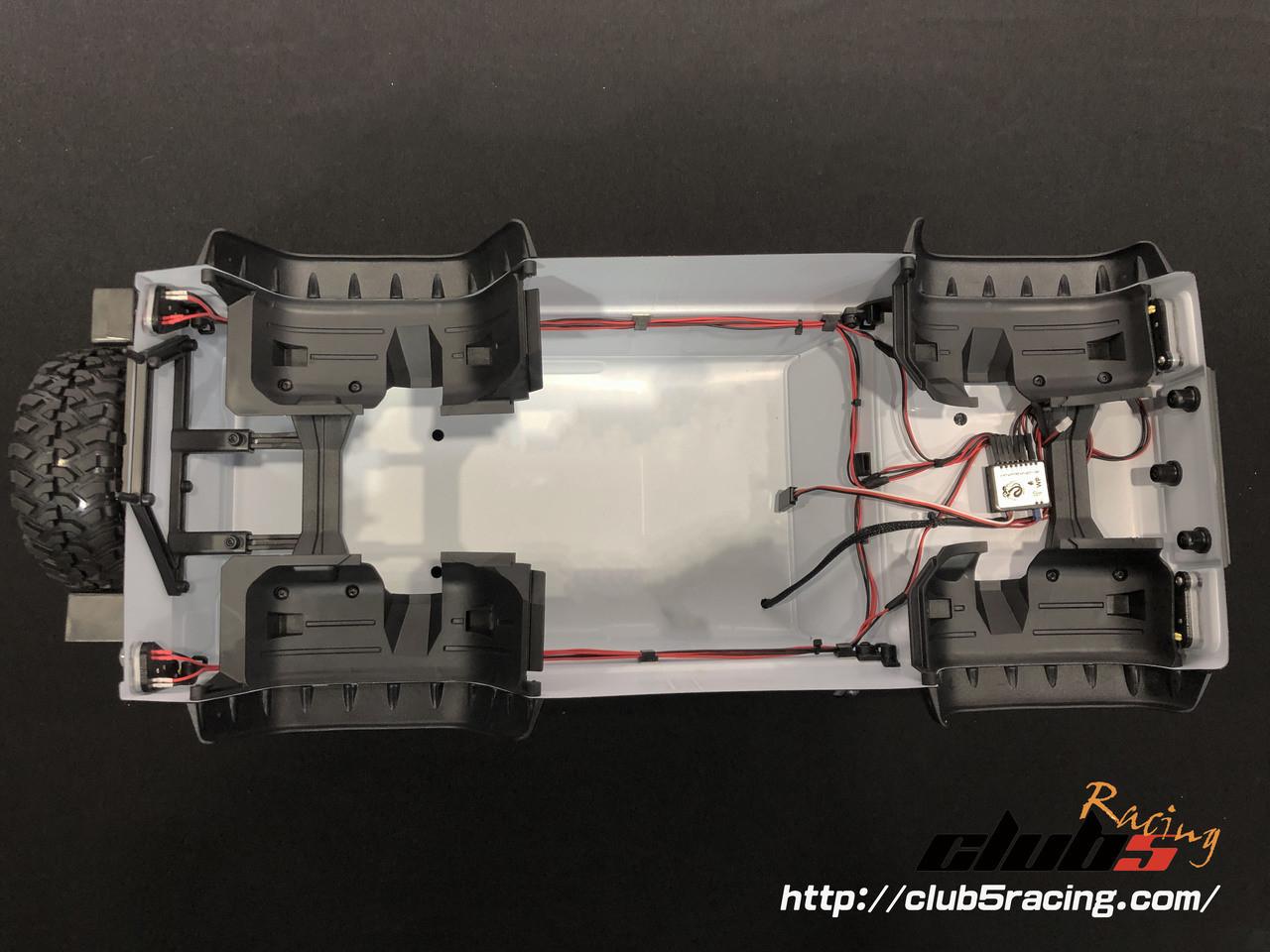 "Waterproof ""EZON"" LED Lighting Series for Traxxas TRX-4 Defender Body"
