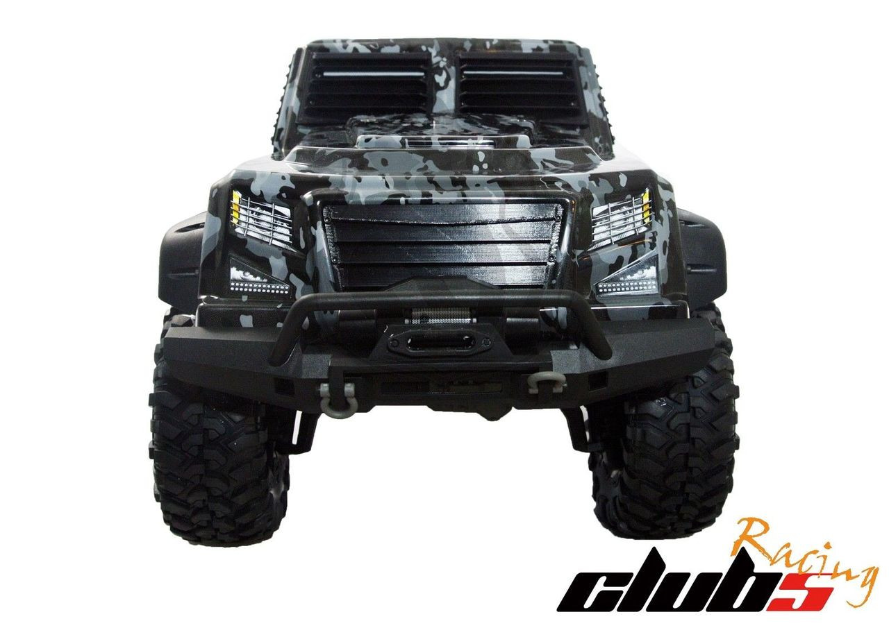 Tough Armor Front Window / Grill Guard ( 3 pcs ) for Traxxas TRX-4 Tactical Unit