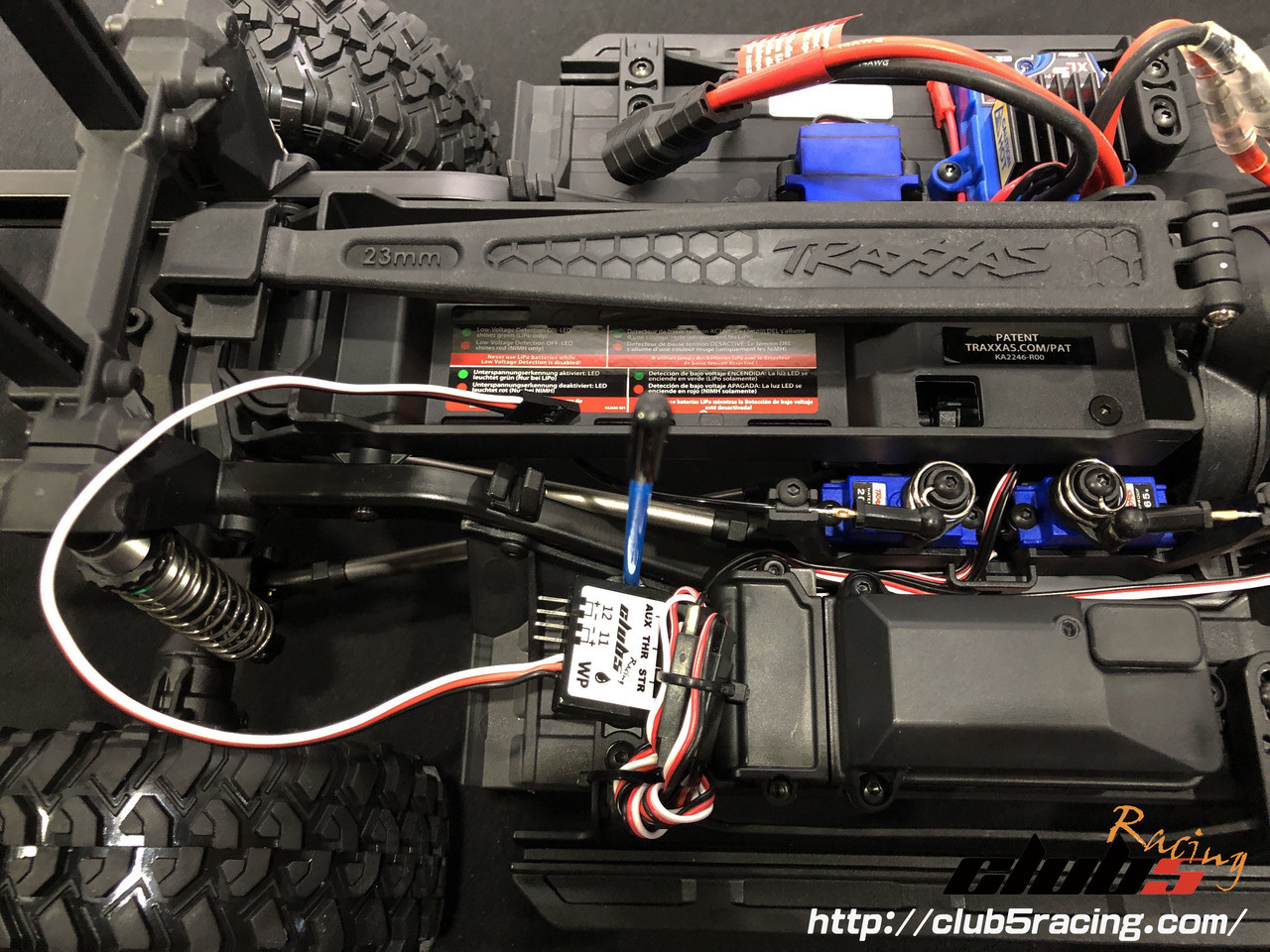 """EZON"" LED Lighting Series for Traxxas TRX-4 Bronco Body"