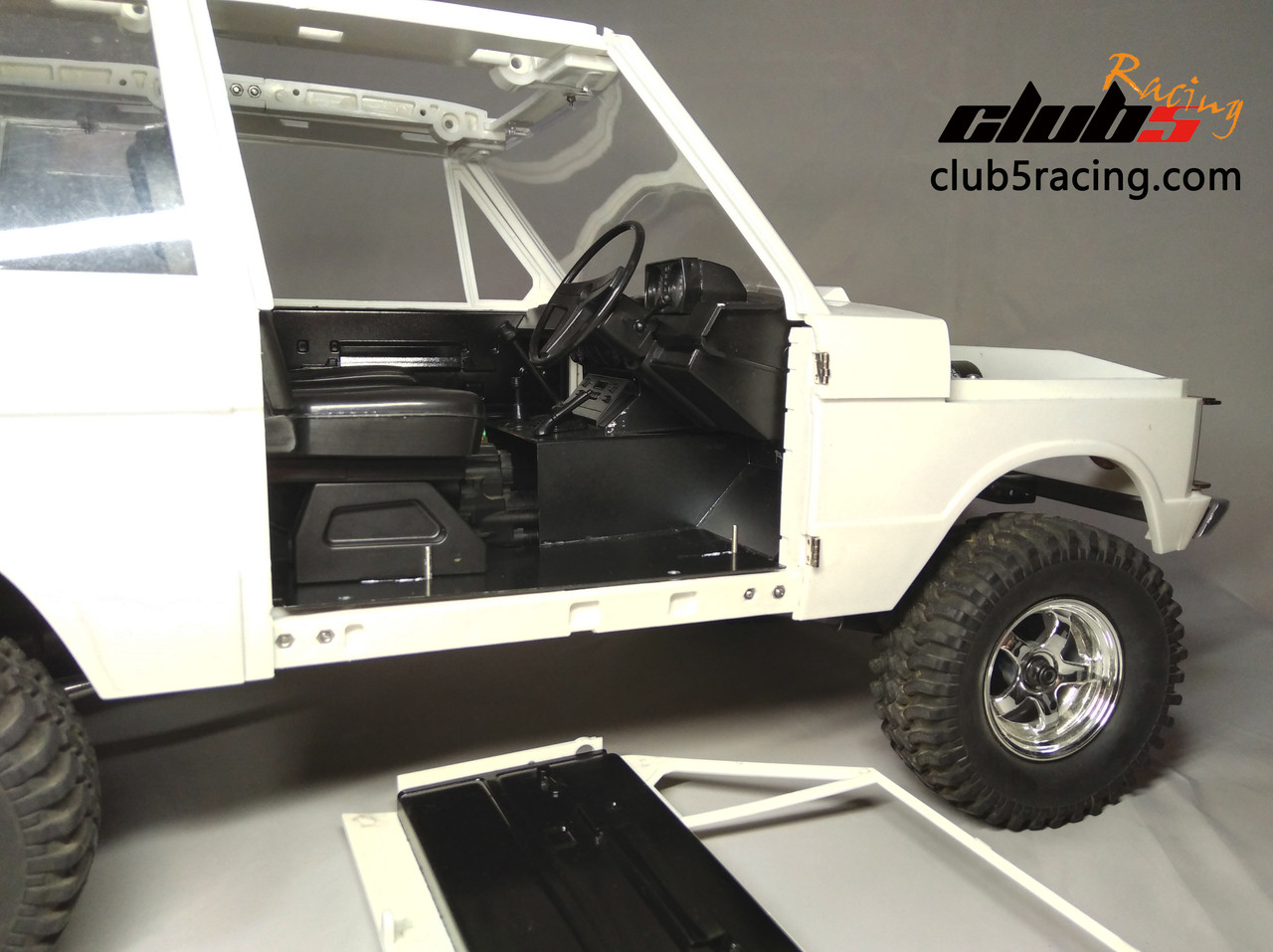For SCX10 II Chassis