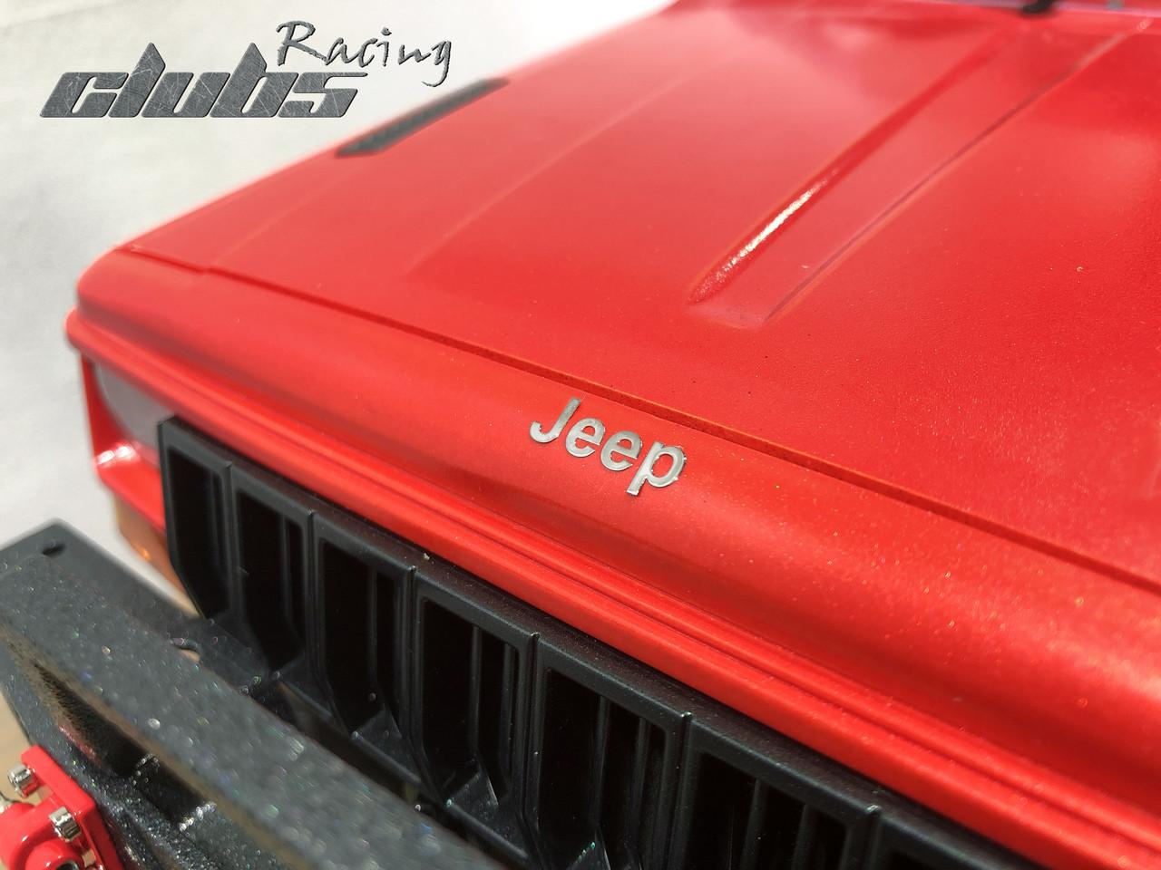 1/10 Scale Metal Emblem for Jeep Comanche MJ Pickup Body
