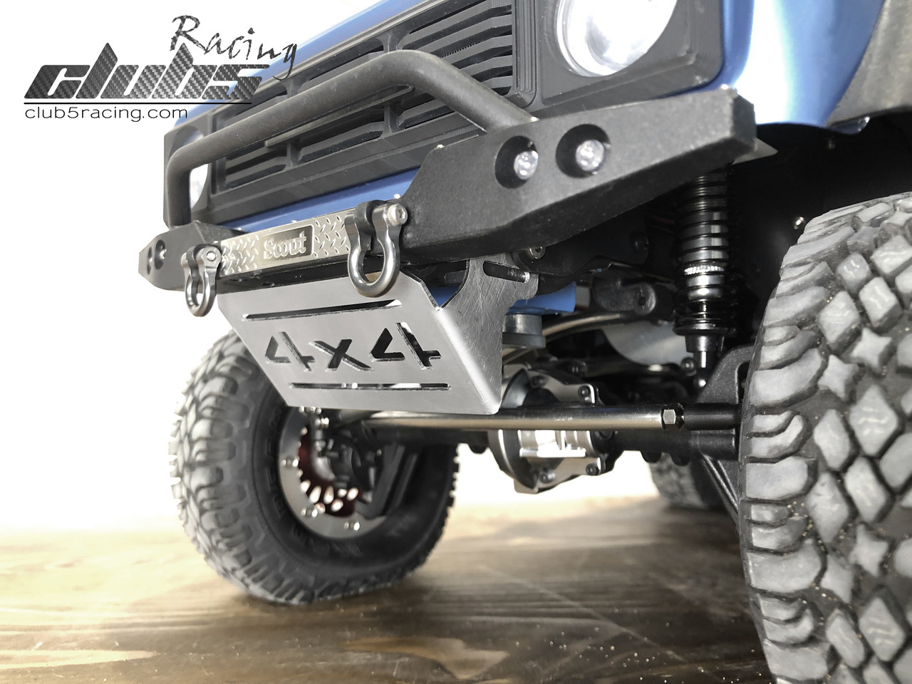 Front Skid Plate / Servo Guard for Redcat GEN8