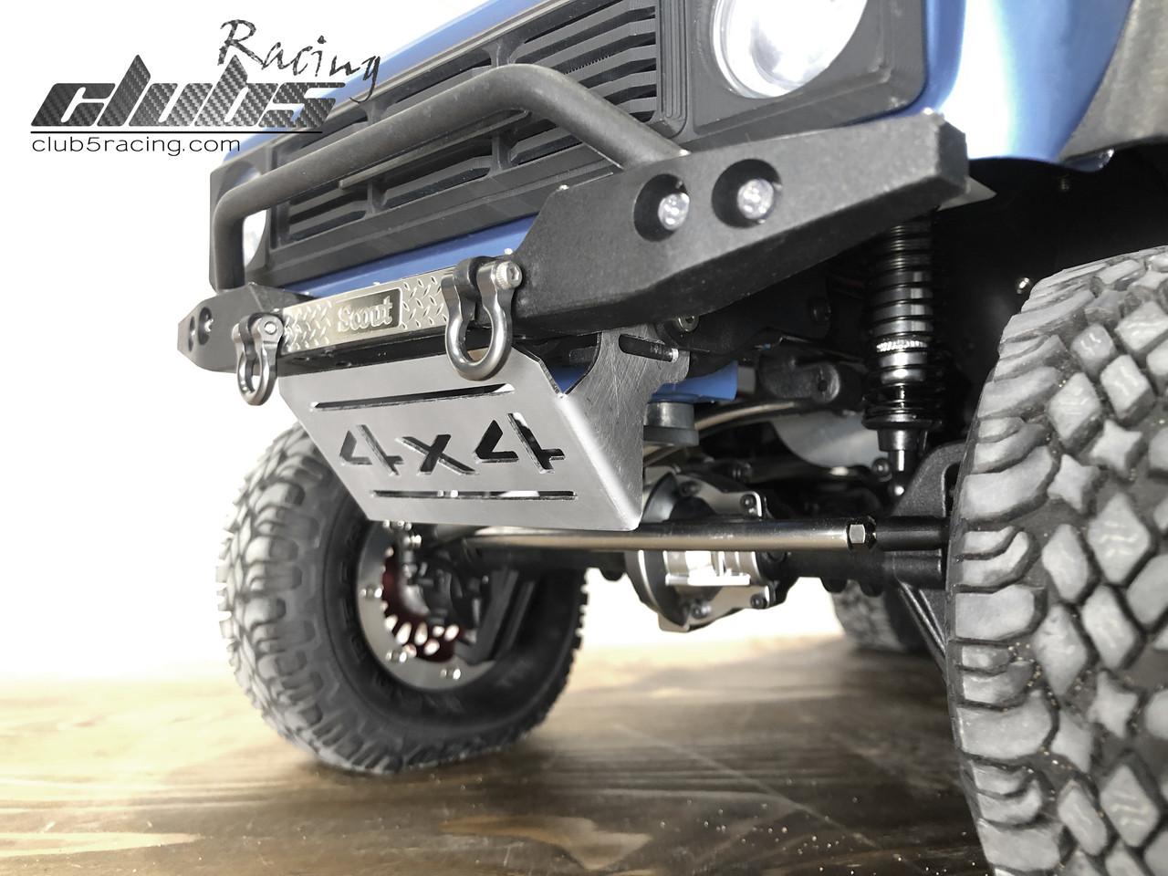 Front Skid Plate / Servo Guard for Redcat GEN8