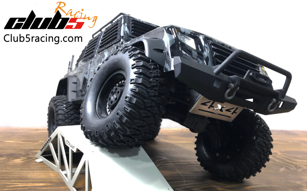 Front Skid Plate / Servo Guard for Traxxas TRX-4 Tactical Unit