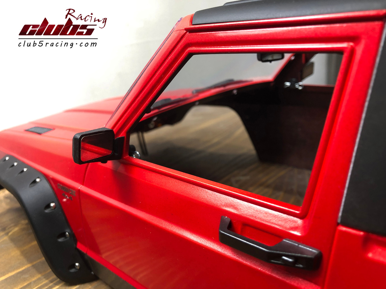 Foldable Side Mirrors / Rear Mirror Set for Jeep Comanche MJ