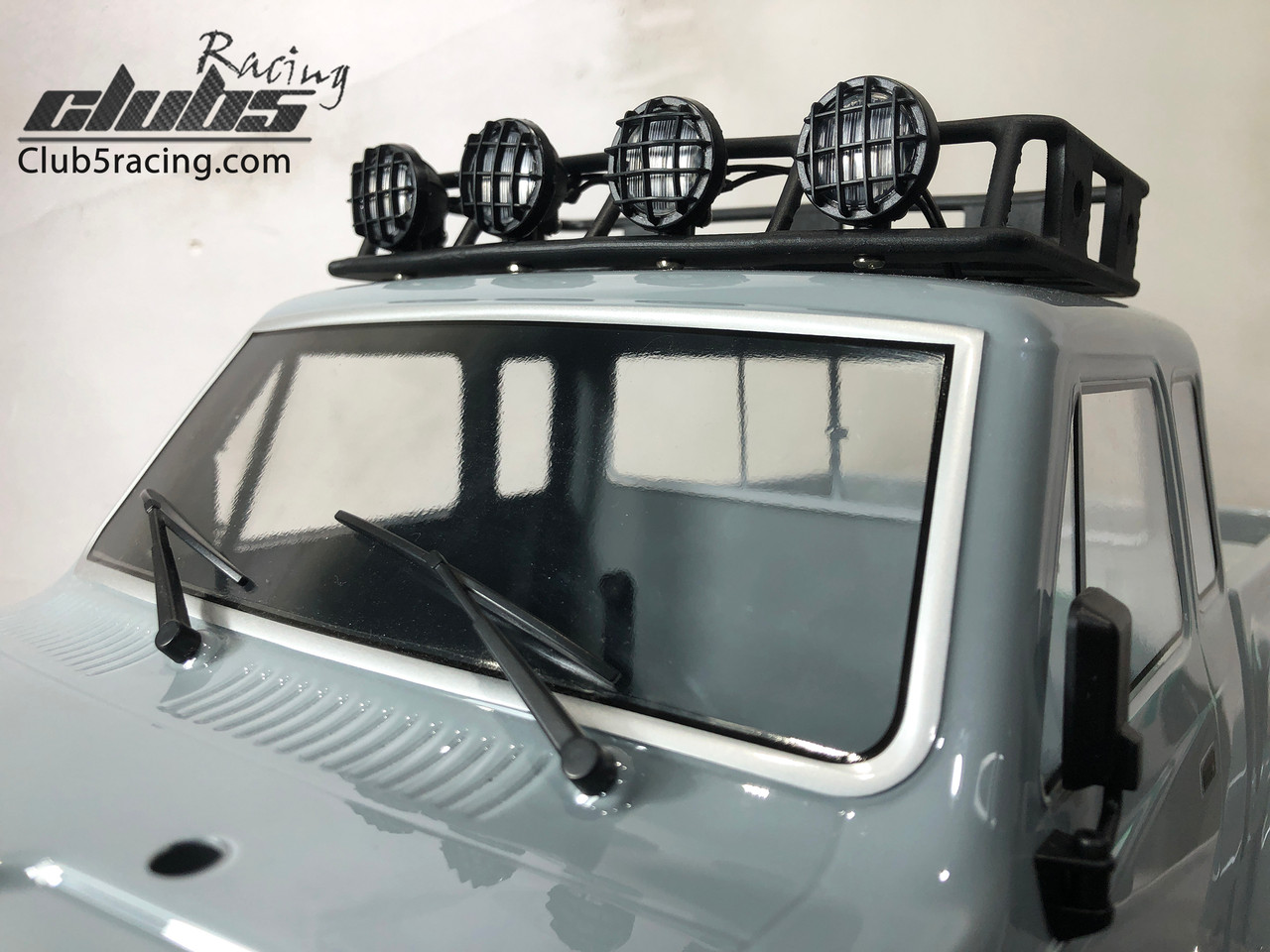 Roof Rack w/ 4 Spot Light for Element RC Enduro Sendero ( Led included, 6V )