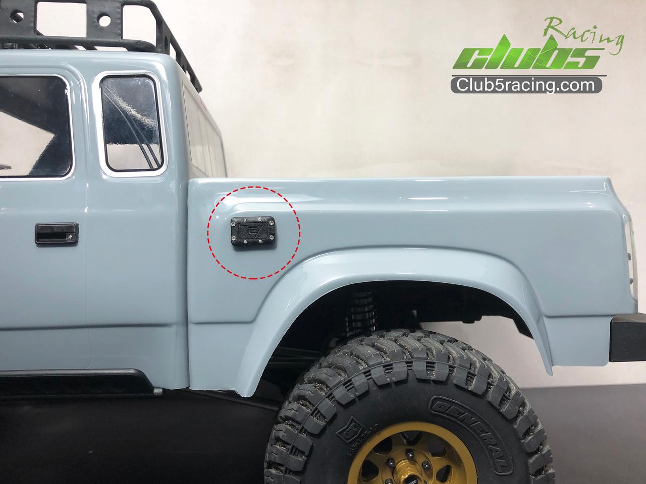 Door Handles for Element Enduro Sendero Body Fuel Cap