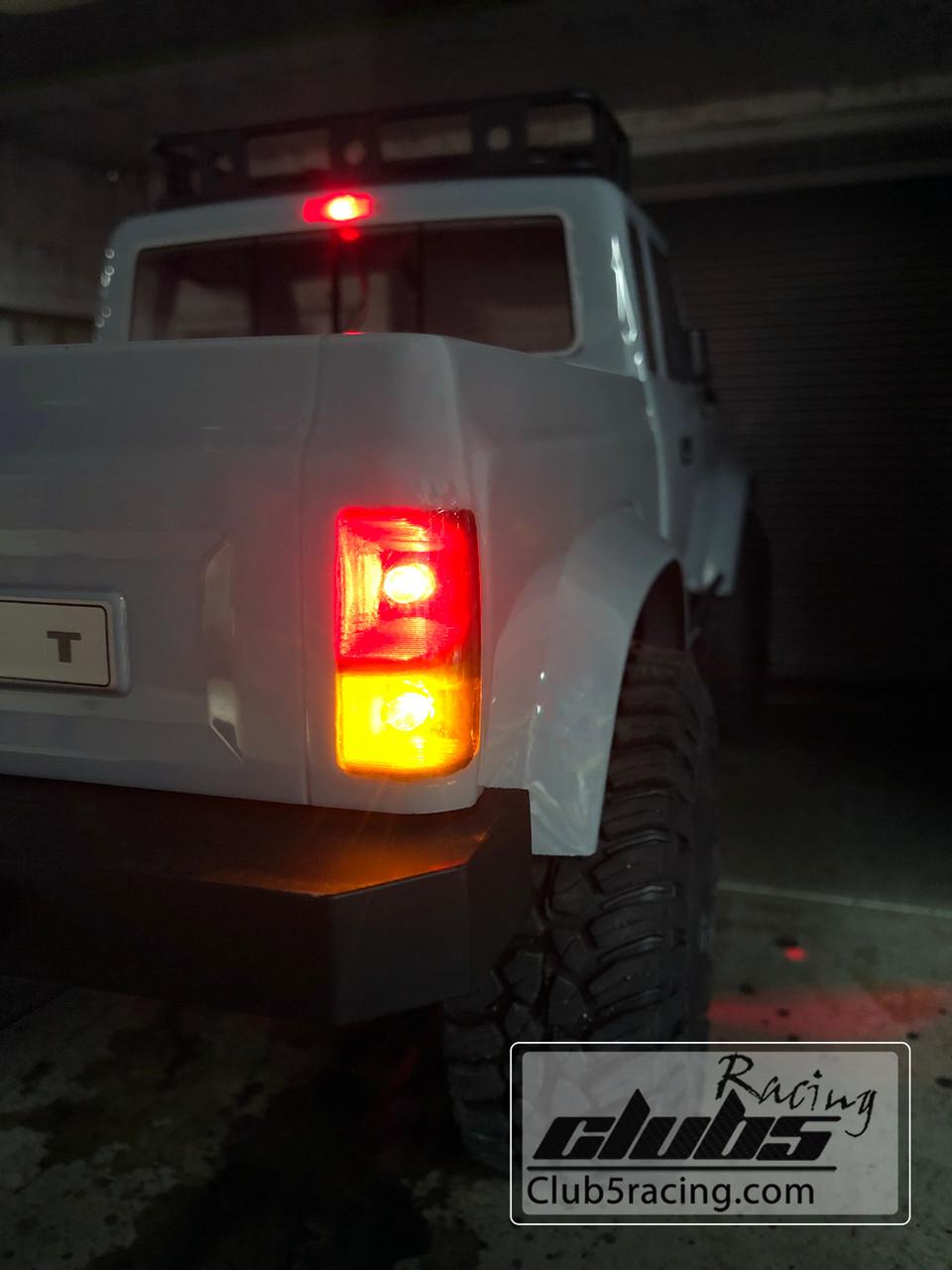 Rear LED Light Bucket / Housing for Element RC Enduro Sendero