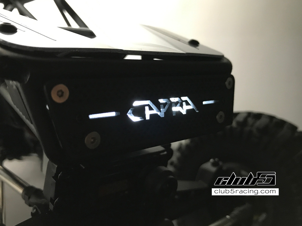 Front Grill w/ LED Lighting for Axial Capra