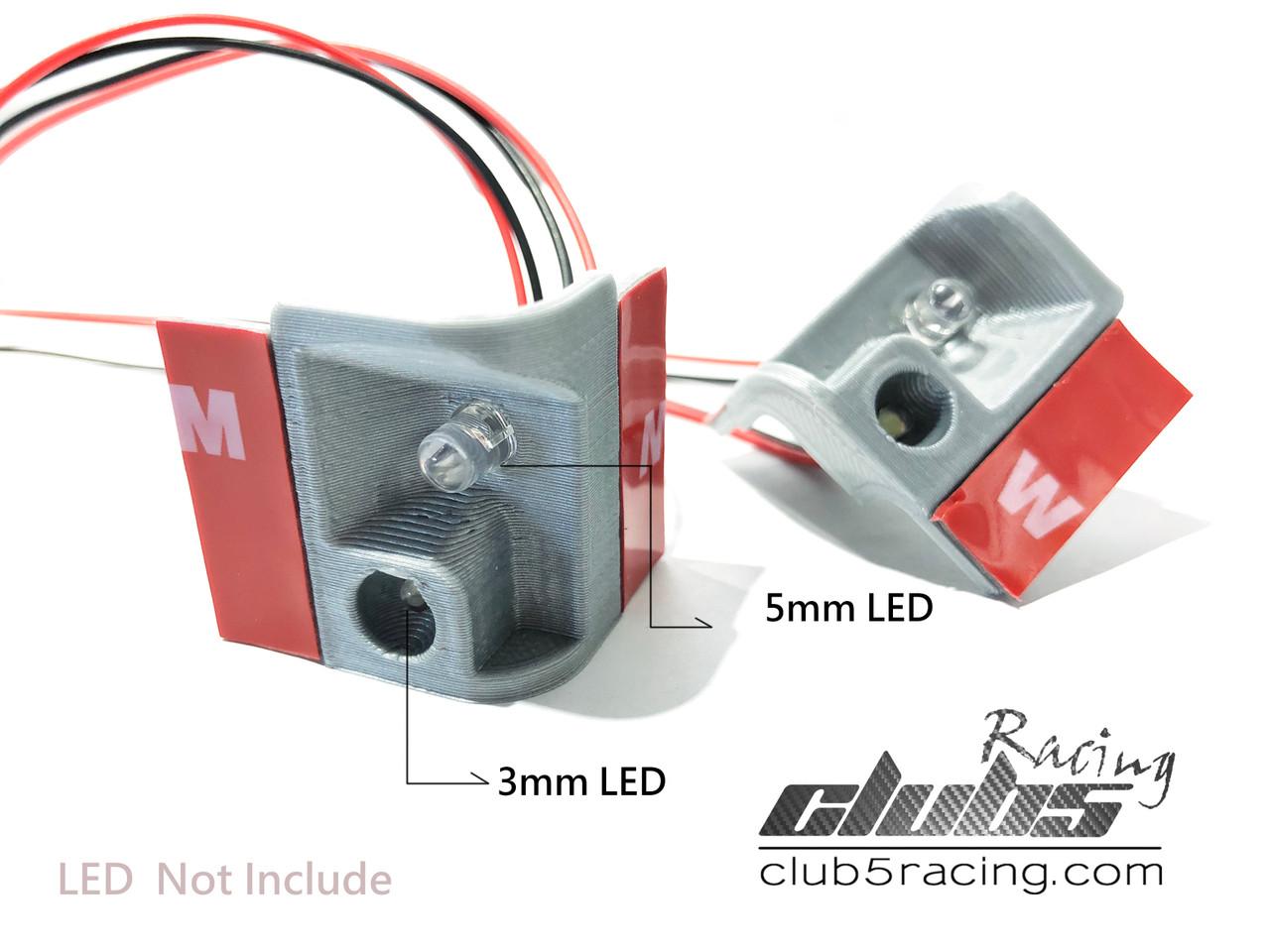 Rear LED Light Bracket / Housing for Element Enduro Trailwalker