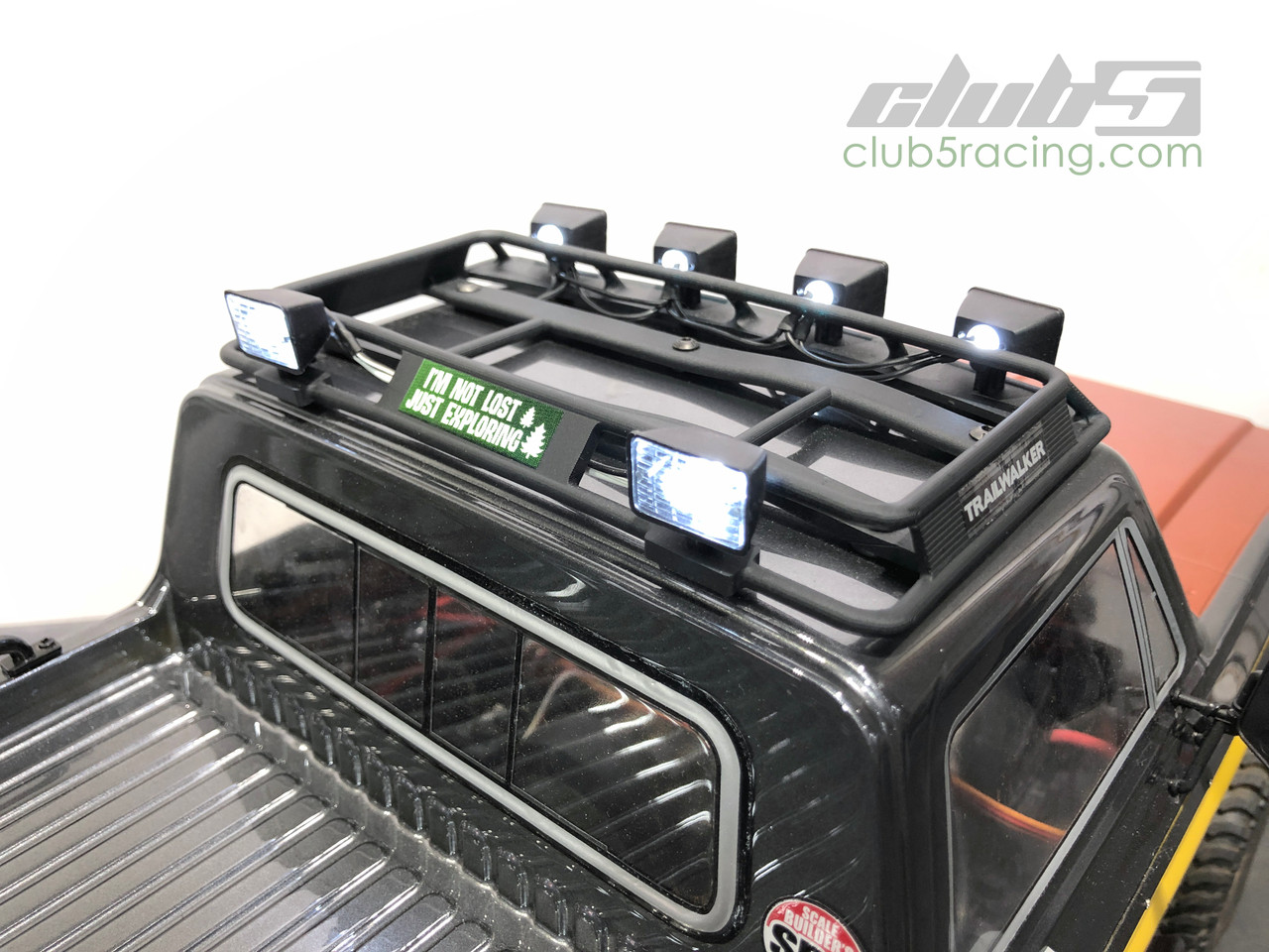 Roof Rack w/ Utility Light Bucket ( front x 4 / Rear x 2 ) for Element Enduro Trailwalker