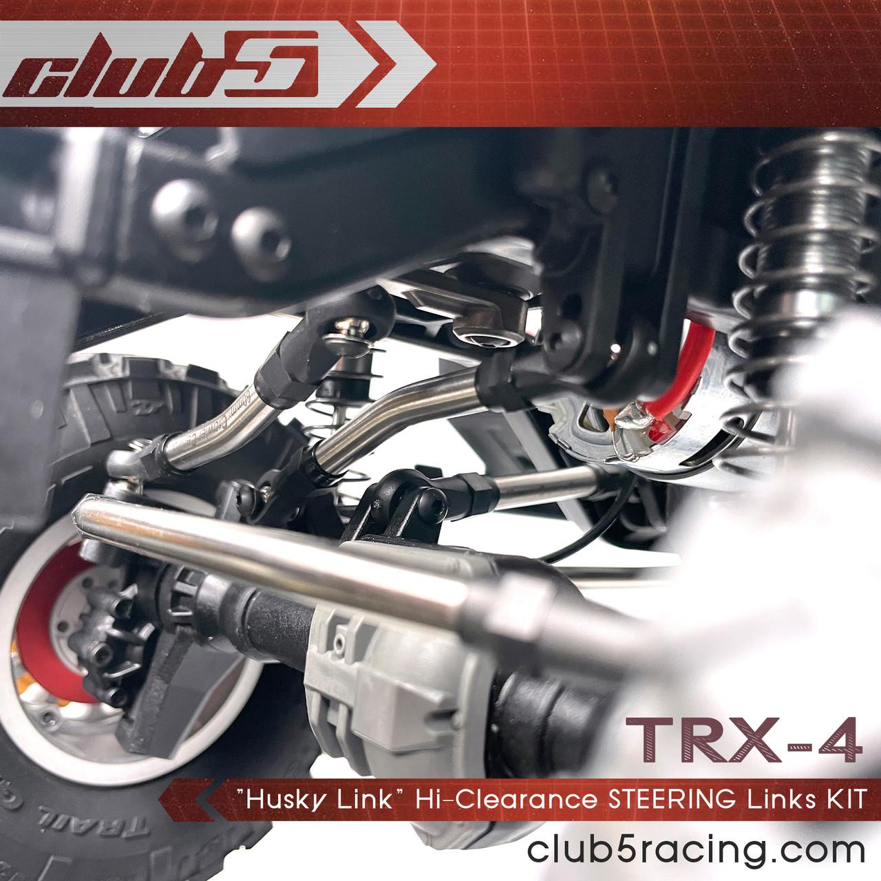 """""""Husky Link"""" Hi-Clearance Steering Link Kit for TRX-4 2021 Bronco / Defender"""