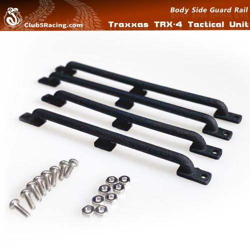 Body Side Guard Rail for TRX-4 Tactical Unit