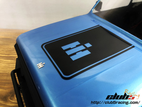 Body Graphic Decal for Redcat GEN8 ( 3 pcs Set )