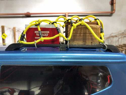 Rooftop Luggage Rack Side Rail for Redcat GEN8 Stock Body