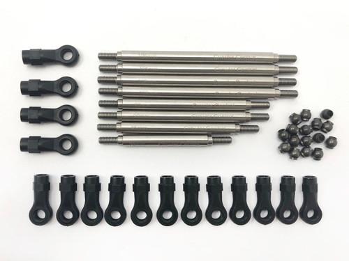 Stainless Steel Linkage Set ( 8 Pcs ) for HPI Venture FJ Cruiser