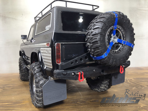 Rear Mud Flaps ( Bronco Ranger ) for Traxxas TRX-4 BRONCO Body