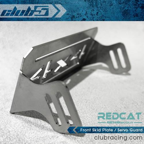 Front Skid Plate / Servo Guard for Redcat GEN8 / Wendigo