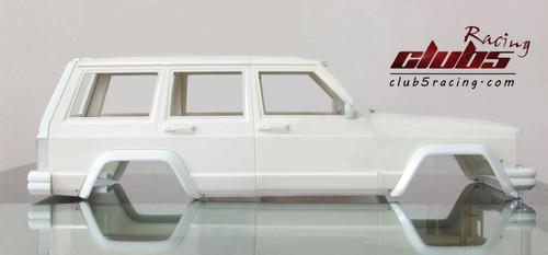 Classic Fender FLare for 1/10 Cherokee XJ Body (ABS)