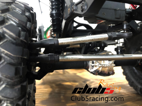 """""""Husky Link"""" HD M4 Steering Links Kit for Vaterra Ascender K10 / Ford F-100 / Suburban ( 290mm WB )"""