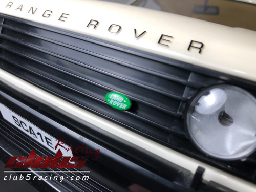 1/10 Land Rover Emblem For TRX-4 D110 / RANGE ROVER (GREEN)