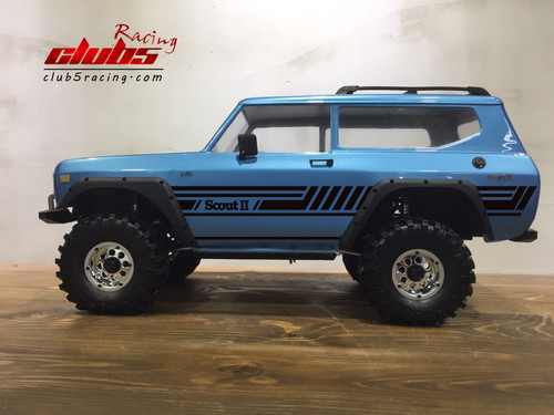 Body Graphic Decal for Redcat Gen8 (Style C)