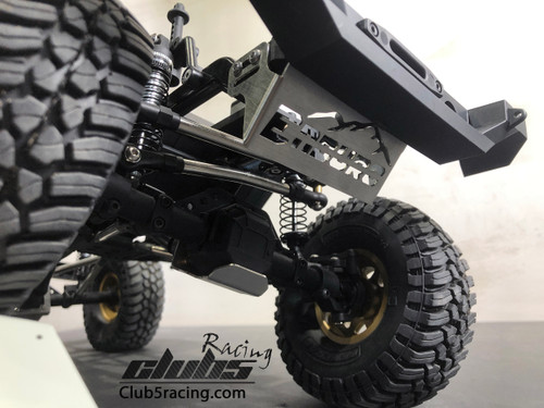 """Rhinoshield"" Stainless Steel Front Skid Plate / Servo Guard for Element Enduro"
