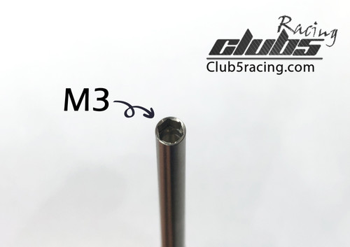 M3 Hex Wrench for Scale Lug Bolt