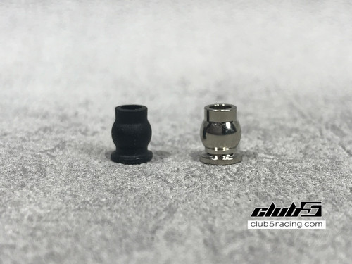 Brass Pivot Balls ( Ni Plated ) for Element RC Enduro Links ( V2, 20 Pcs )
