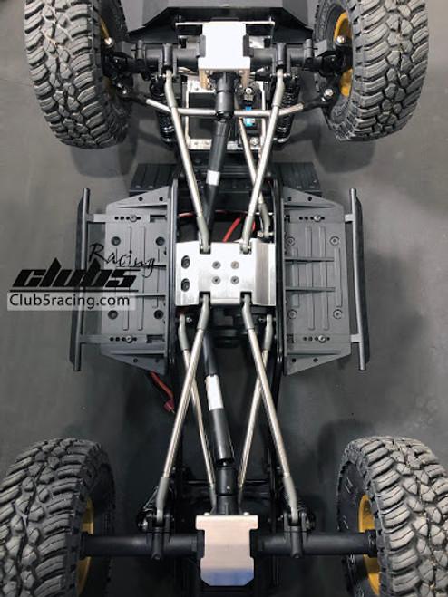 """Rhinoshield"" Stainless Steel Center Skid Plate For Element Enduro"