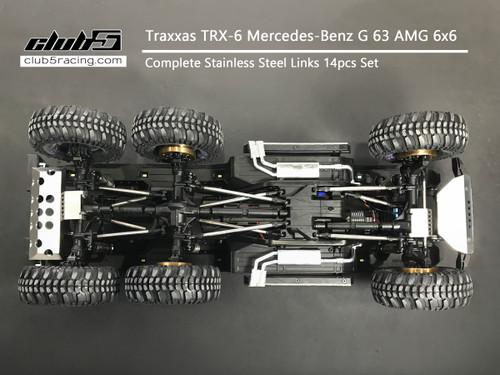 """Husky Link"" Complete Link Set for Traxxas TRX-6 G63 6x6"