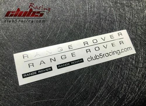 "Classic Range Rover Hard ABS Body (5 Doors Version) w/ ""FREE"" Metal emblem"
