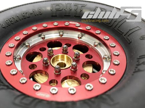 M3 x 8 mm Scale Wheel Lug Bolt ( Silver, 26 pcs )