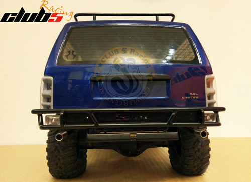 Dual Exhaust Pipe for Axial XJ Cherokee SCX10 II AX90046 AX90047