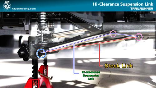 """""""Husky Link"""" Hi-Clearance Suspension Links for Element Trailrunner ( Rear Only )"""