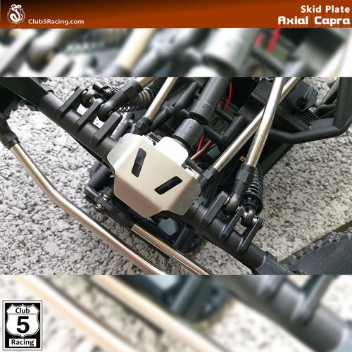 """Rhinoshield"" Front / Rear Axle Skid Plate for Axial SCX10 III / Capra ( 2 pcs )"