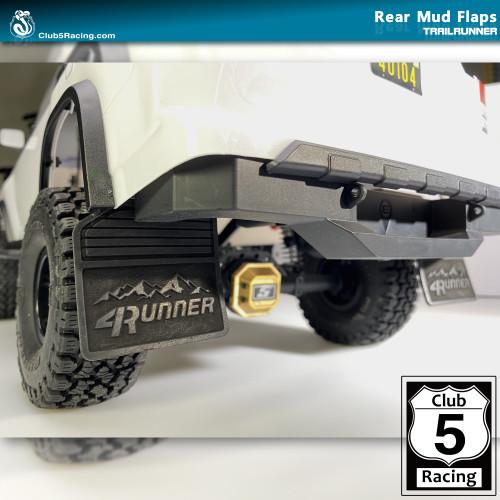 Rear Mud Flaps ( 4Runner ) for Element Trailrunner